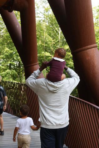 Barn i Skovtårnet