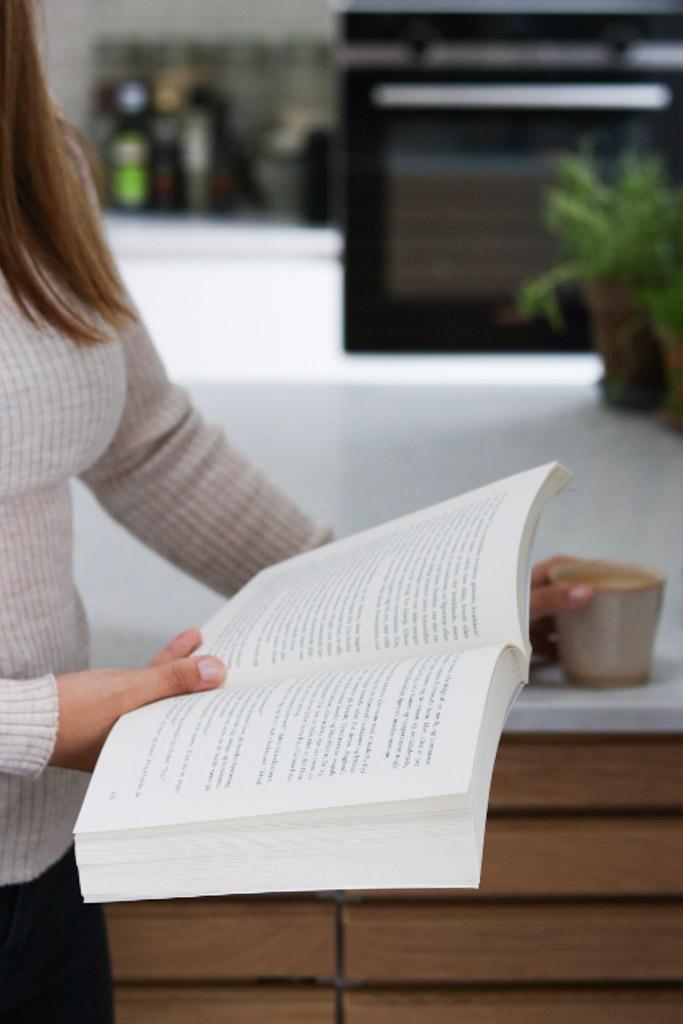 Bog og kaffe