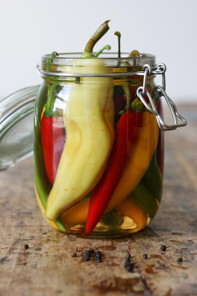 Syltede chili
