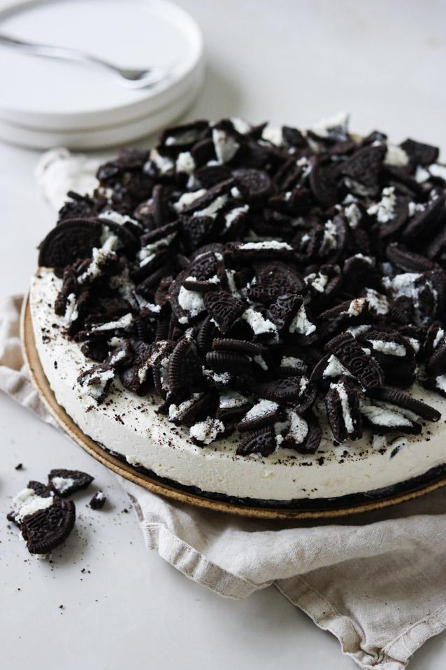 Cheesecake med oreo's