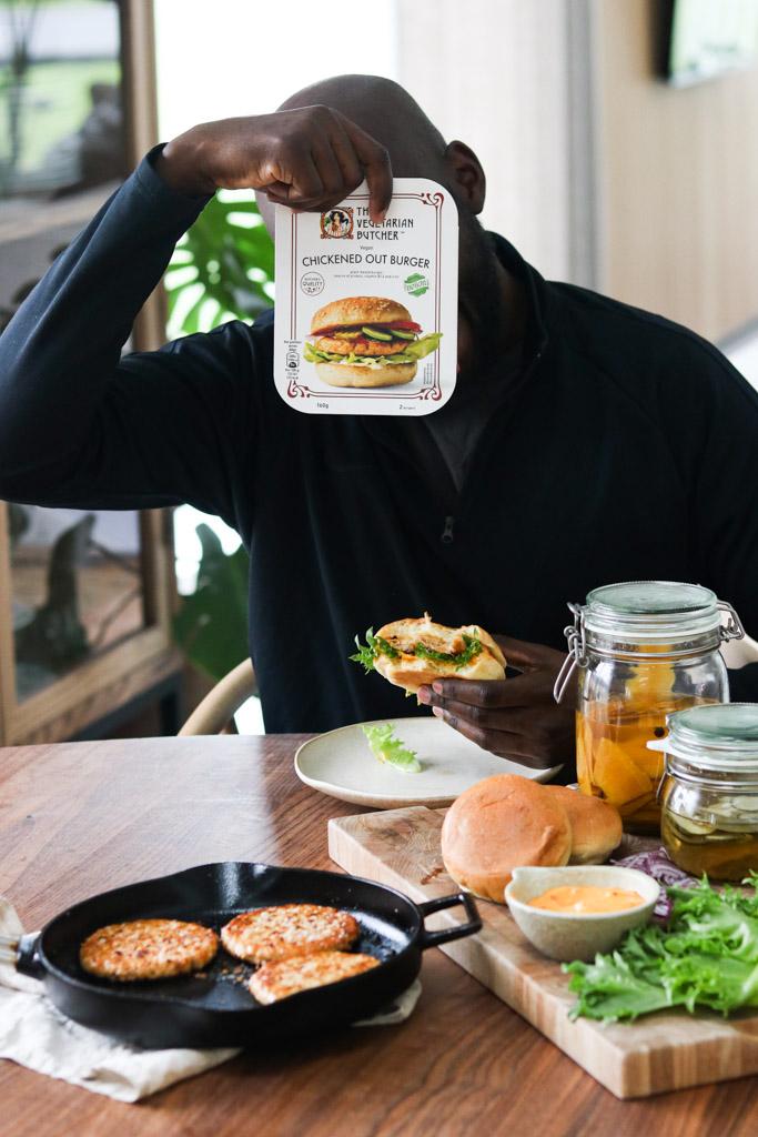 Vegetarisk burger