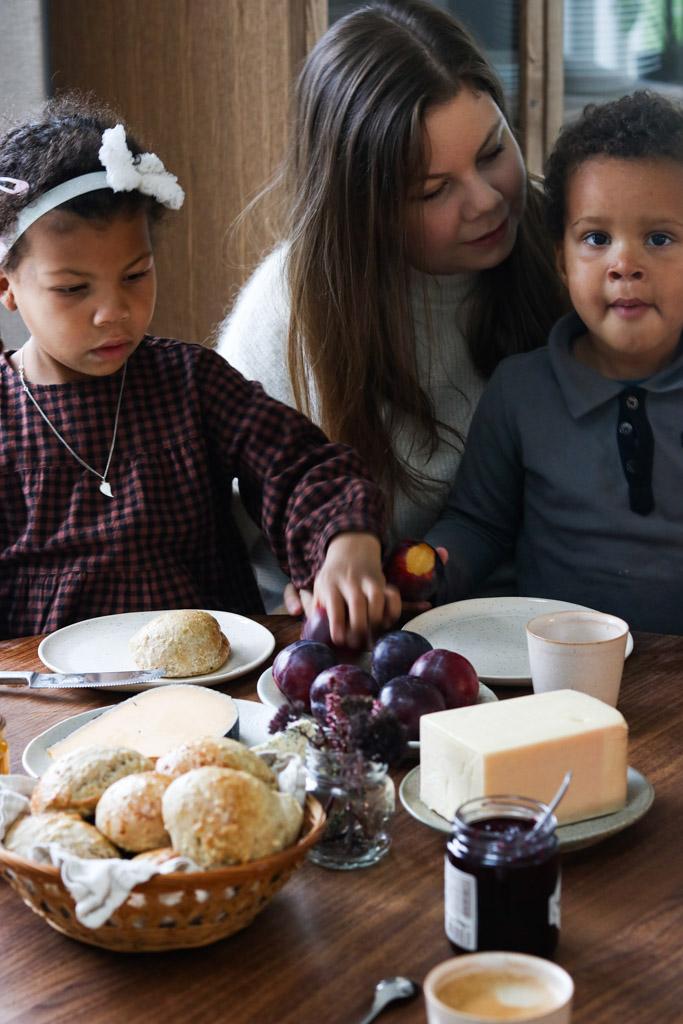 Maria Vestergaard og æbleboller