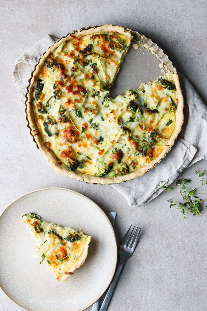 Broccoli tærte