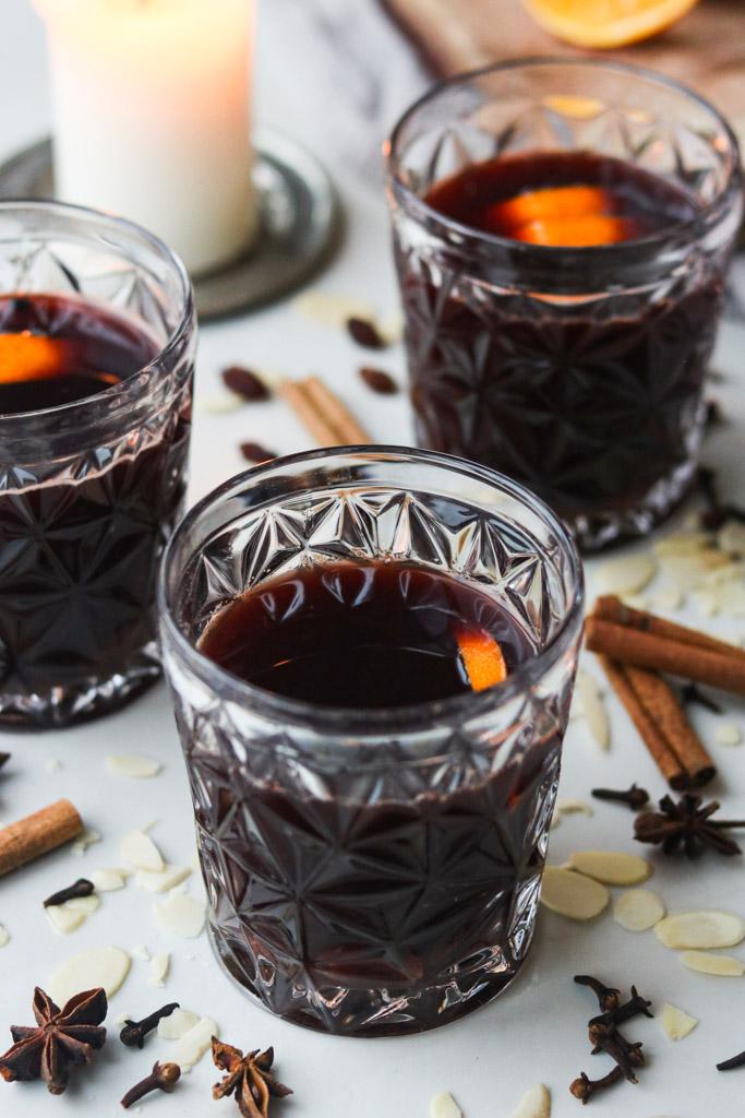 Gløgg med rødvin