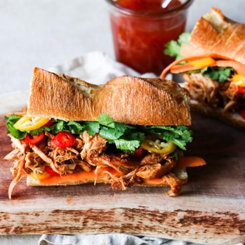 Asiatisk sandwich