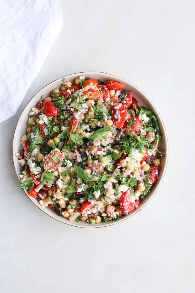 Kikærte salat